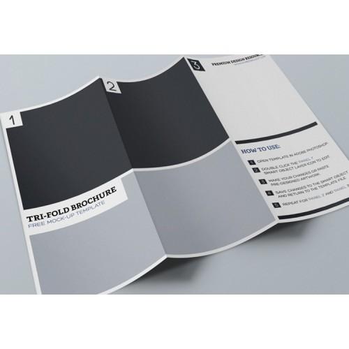 Brochure 3 volet 2 plie