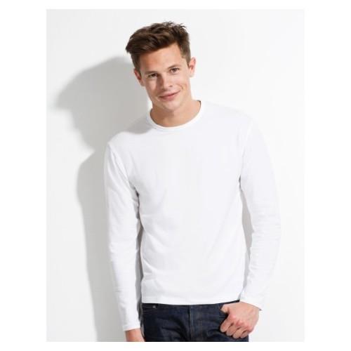 t-shirt personnalisé / coton / Manche longue