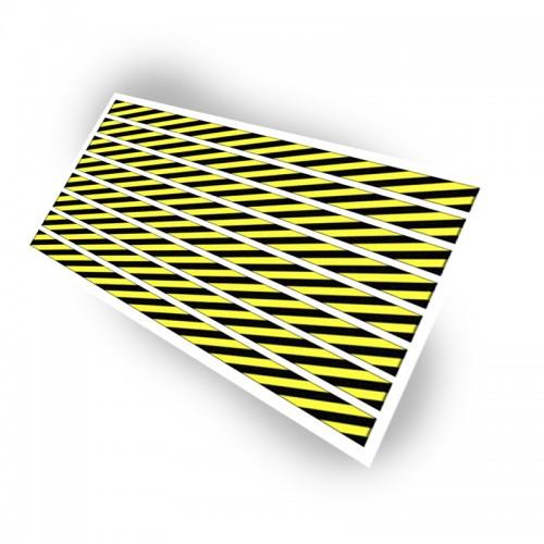 Planche stock haute visibilité