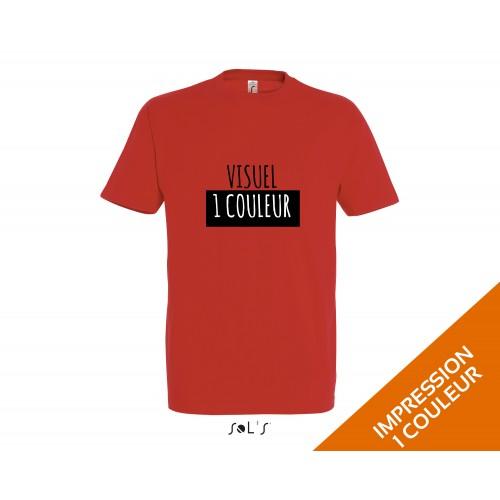 t-shirt personnalisé Sol's imperial / coton blanc / 190gr
