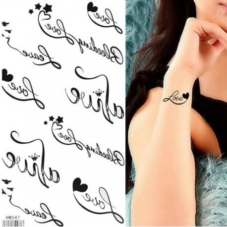 Tatoo papier personnalisé ( tatouage )