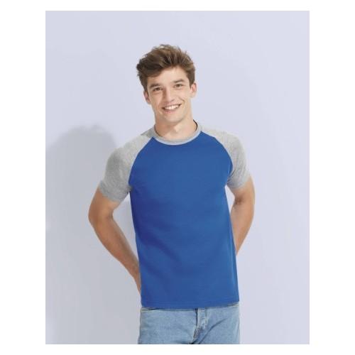 t shirt baseball bicolor